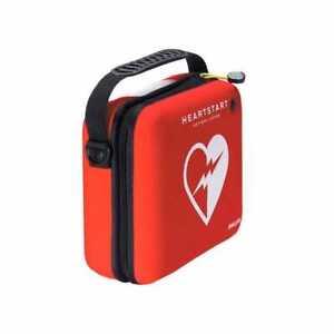 PHILIPS HEARTSTART DEFIB SLIM CARRY CASE ONLY RED HS1 EMPTY BRAND NEW