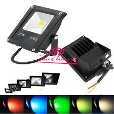 Exterior Impermeable 10W 20W 30W 50W 100W Blanco RGB LED securtity reflectores