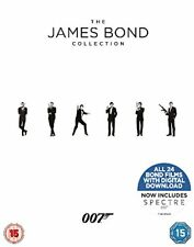 The James Bond Collection 1-24 [2017] (Blu-ray)