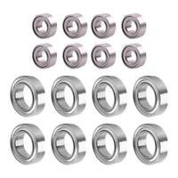 8pcs RC Car Metal Bearing 3*6*2.5mm 6*10*3mm Bearings for WPL1629 1630 Truck#GD