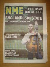 NME 1986 JUL 12 HOUSEMARTINS BOY GEORGE THE THE KILGORE