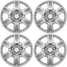 "4 pc Set Hub Cap ABS Silver 15"" Inch Rim Wheel Cover Replica Skin Covers Caps"