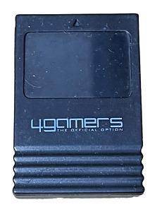 Black Memory Card For Nintendo GameCube 123 Blocks 4Gamers