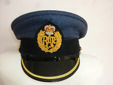 RAF MANS MUSICIANS CAP WITH BADGE SIZE APPROX: 59CM GENUINE RAF ISSUE