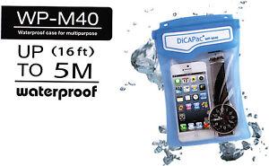 DiCAPac WP-M40 wasserdichte Mehrzweck Schutzhülle für Wertsachen - in 4 Farben