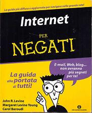 Internet per negati - oscar Mondadori - Libro nuovo in Offerta!
