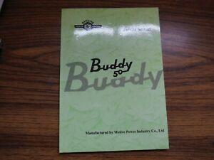 Genuine Scooter Buddy 50 Shop Service Repair Manual