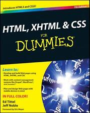 HTML, XHTML & CSS for Dummies by Ed Tittel, Jeff Noble