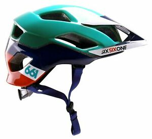 Evo Am MTB helmet extra protection Mips Orange/blue Xs /S 54-56cm 661.