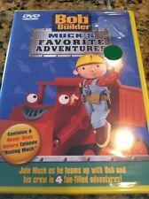 Bob the Builder MUCK'S FAVORITE ADVENTURES DVD, 4 Episodes