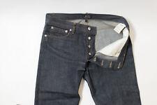 APC A.P.C. Mens Petit Standard Blue Raw NO WASH Denim Jeans Size 29 31 x 34 $210