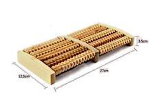 Wooden Foot Roller Massager
