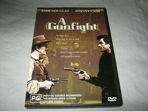 A Gunfight - Kirk Douglas - VGC - DVD - R4