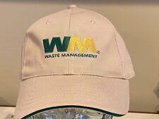 Waste Management WM Trash Recycling Hauler TeamTan  Hat Cap NEW