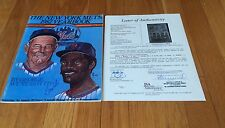 Mets Team signed1982 autographedYearbook Berra Ashburn Snider Jsa Loa 132 Auto