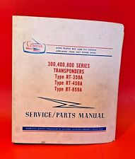 Cessna Service Parts Manual 300 400 800 Series Transponders RT-359A -459A -859A