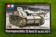 Tamiya Sturmgeschutz III Ausf G Alemán Sdkfz 142/1 1/48 escala 32525