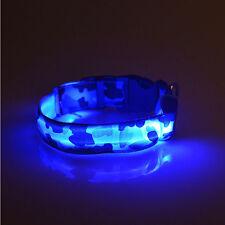 Colgante Seguridad Nylon Impermeable Luz LED Collar En Noche Para Mascotas Gato