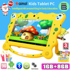 "7"" KIDS TABLET PC ANDROID 7.1 QUAD CORE WIFI Dual Camera CHILD CHILDREN GIFT UK"