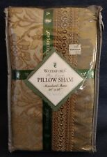"Waterford Bed Linens ~ ""FOXFORD"" ~ PILLOW SHAM ~ Standard 20"" x 26"" ~ New in Pkg"