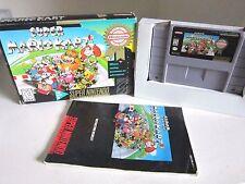 Super Mario Kart (Super Nintendo, 1992) Complete