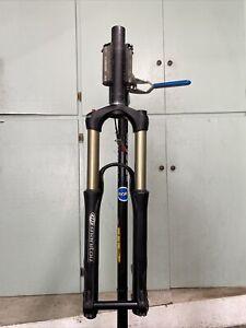 "Manitou Sherman 170-120mm Travel Fork, 1.5"" 8.4"" Steerer, 20x110mm Thru Axle"