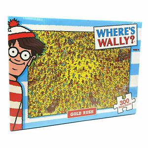 300 Piece Jigsaw Puzzle Where's Wally - Gold Rush