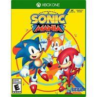 Sonic Mania Plus (Microsoft Xbox One, 2018) [BRAND NEW] Factory Sealed