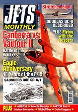JETS MONTHLY 2012/04 APR Douglas DC8-63,F-15 Eagle,SR.A/1,Convair F-102,Canberra