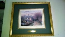 THOMAS KINKADE LITHO OPEN GATE SUSSEX COLLECTORS SOCIETY WITH COA LTD ESTATE
