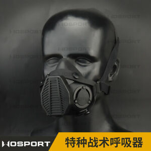 Tactical Half Face Mask for Paintball Airsoft Hunting Game Cosplay Dual Mode