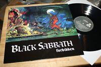 Black Sabbath - Forbidden - Rare I:R:S: Records Brazil Heavy Hard Rock Vinyl RI