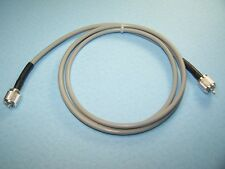 RG-8X COAX CABLE JUMPER 6 FT SEALED CRIMP-ON SILVER TEFLON PL-259s CB HAM RADIO