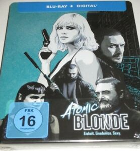 Atomic Blonde - Blu-ray/NEU/Action/Charlize Theron/James McAvoySteelbook
