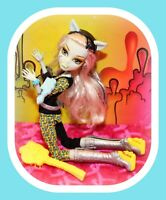❤️Monster High Frankie Stein Clawdeen Wolf FREAKY FUSION Doll Shoes Outfit❤️
