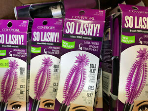 (10) Covergirl So Lashy! Blast Pro Mascara Sealed 795 - Jet Black