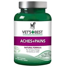 Vet's Best Dog Aches and Pains Chewable Tablets Supplements 50 count