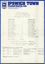 Cardiff City Football Reserve Fixture Programmes (1970s)