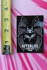 Afterlife Concave ZERO Skateboards Death Wings Vintage Skateboarding STICKER