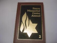 Simon Wiesenthal Center Annual 2 HOLOCAUST
