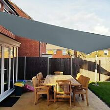 More details for uk outdoor garden patio sun shade sail canopy awning ip67 98% uv protected 3x4m