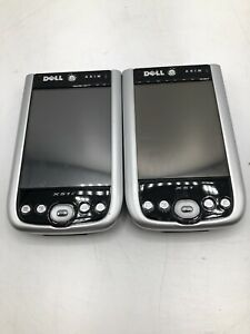 Lot of 2 Dell Axim X51V UNTESTED With Flash and SD Card. *FOR PARTS*