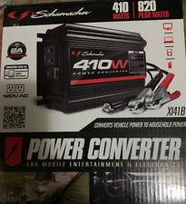 Schumacher Xi41b Power Inverter 12 VDC Input 2 Outlets NIB