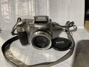 Kodak EasyShare Z710 Digital Camera w/ Strap 10x 7.1 MP Silver Free Shipping