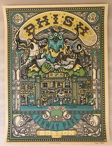 Phish Fenway Boston 19 Drew Millward Print Poster