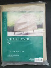 New listing Allen Company Tan Outdoor Patio Chair Cover, 37�L x 34�W x 31�H