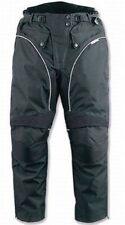 Pantalons noir avec doublure pour motocyclette Femme