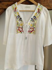 Lysgaard Embroidered Boho Top size XS