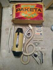 Vintage USSR Raketa 7M vacuum cleaner rare with box 1979