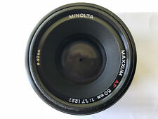 Minolta AF 50mm f/1.7 AF Lens Excellent